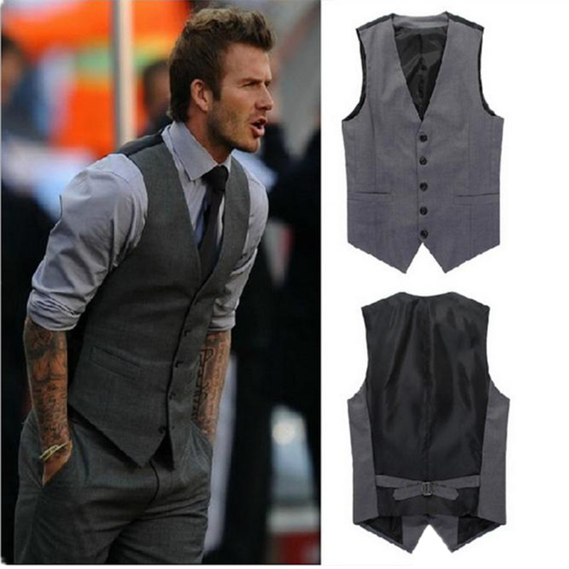 Mens fashion with vest 94