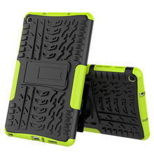 Case For Samsung Galaxy Tab A 8.0 2019 SM-P200/P205 Cover Heavy Duty 2in1 Hybrid Rugged Durable Funda Tablet Stand Shell Capa#P4(China)