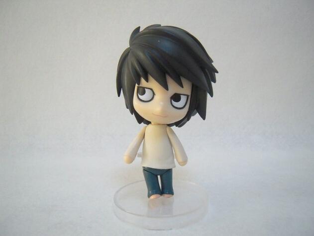 DEATH NOTE Action Figures Nendoroid L Lawliet PVC 100mm Toy Anime DEATH NOTE Nendoroid Collectible Model Figure