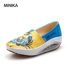Women Walking Shoes Outdoor Jogging Shoes Stretch Breathable Female Slip on Lightweight Comfor Easy Sport Shoes sapatos feminino