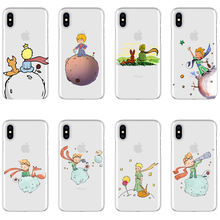 Cartoon The Little Prince The earth space Soft TPU Case For iPhone 11Pro MAX SE 5 5S 6 6S 7 8Plus X10 XS XR MAX 2019 Phone Cover castle princess white snow prince cartoon phone case back cover silicone soft for iphone 6 7 8plus plus 5 5s 6 6s xs max xr