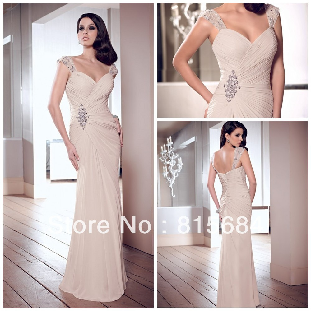 2014 hot sale mother of the bride dress summer fall winter for Mother of the bride dresses for fall wedding