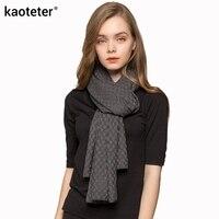 85% Silk 15% Wool Cashmere Women's Warm Long Scarves Women Length 188cm Width 55cm Scarf Autumn Winter Pashmina Female Wraps