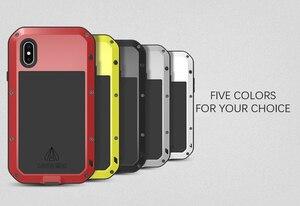 Image 5 - Gorilla Glass LOVE MEI мощный чехол для iphone SE 2020 11 Pro X XS Max XR чехол для iphone 8 6 6s 7 Plus водонепроницаемый армированный чехол