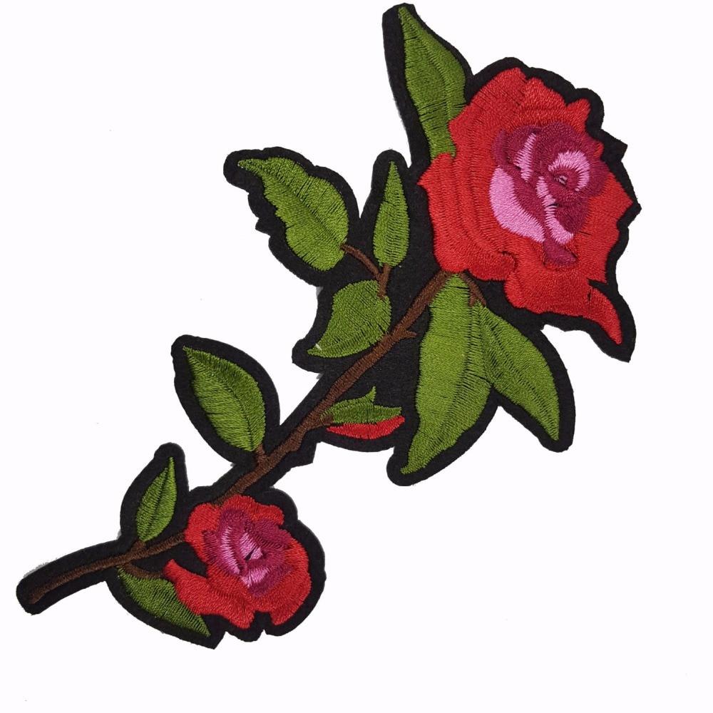 Pulsuz Göndərmə Yeni Moda Nice Flower Patch Geyimlər üçün - İncəsənət, sənətkarlıq və tikiş - Fotoqrafiya 1