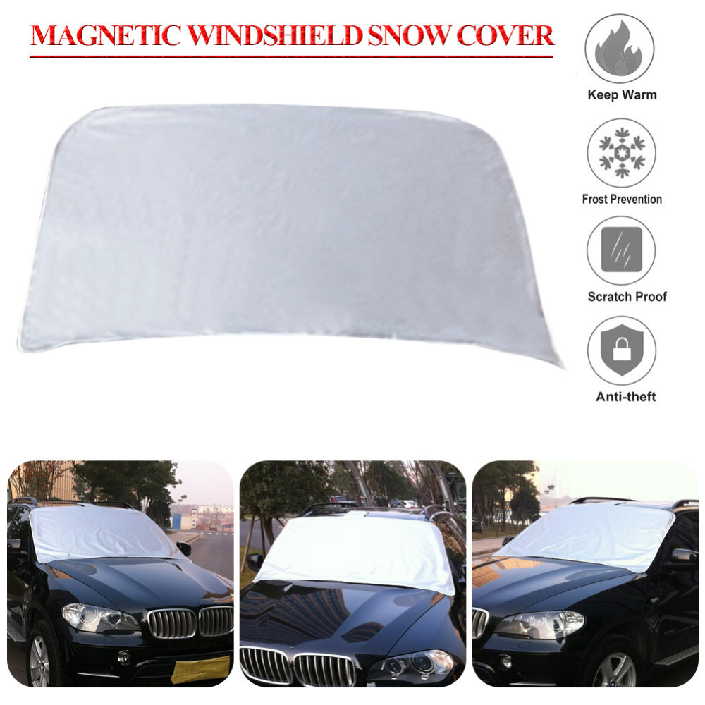us $6.52 17% off|magnetic auto snow cover car windshield windscreen shade  sunshade sun visor blind front window screen ice frost accessories-in