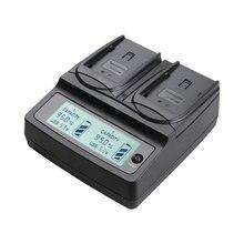 Udoli VW-VBN130 VW-VBN260 VW-VBN390 VW VBN260 VBN390 Батареи Двойной Зарядное Устройство для PANASONIC VBN130 HC X900M X920M TM900 SD800 HS900
