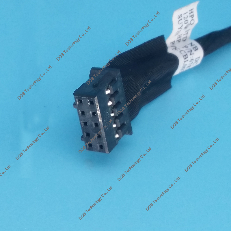 GinTai DC in Power Jack Harness Cable Socket Plug Port Replacement for HP Envy M7-1000 DV7-7000 dv7-7250us 5pcs