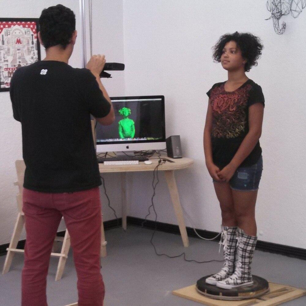 3D scanner ZS1 pour 3D imprimante de poche corps visage objet scan Pas DIY grande zone de numérisation avec le logiciel bas prix livraison gratuite DHL - 4