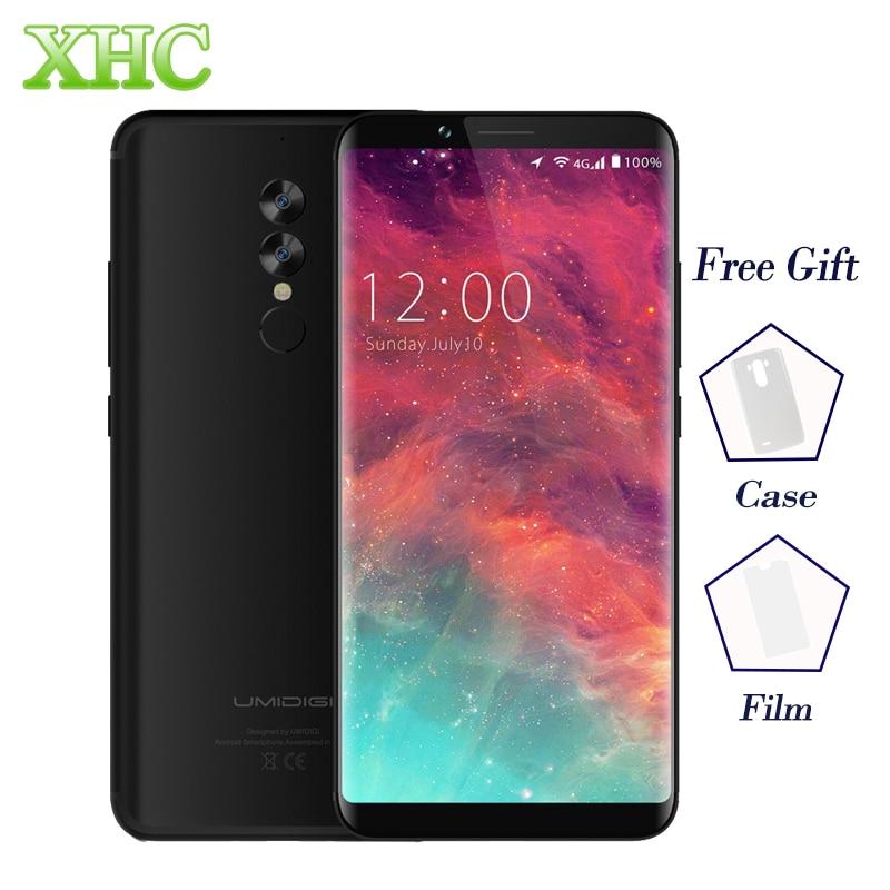 "UMIDIGI S2 4G Smartphones 5MP+13MP Android 6.0 4GB RAM 64GB ROM 5100mAh Cellphone Helio P20 6.0\"" 1440x720P Dual SIM Mobile Phone"