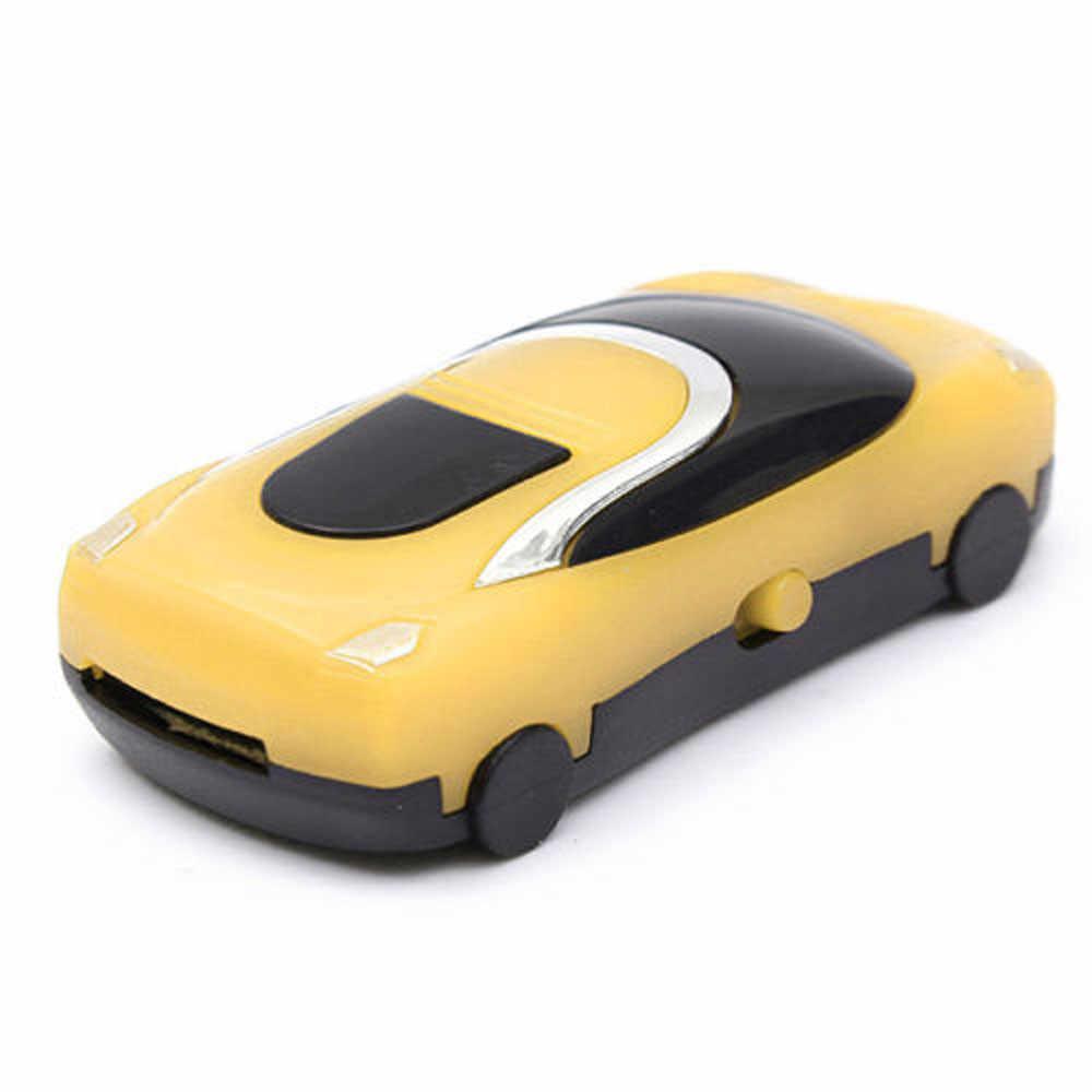 Best милый подарок Дизайн мини-автомобиль Стиль USB цифровой MP3 плеера Поддержка Micro SD TF с USB Дата кабель # S