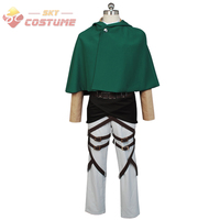 Атака на Титанов Shingeki no kyojin Скаутинг Легион Rivaille Косплэй костюм Бесплатная доставка Хэллоуин