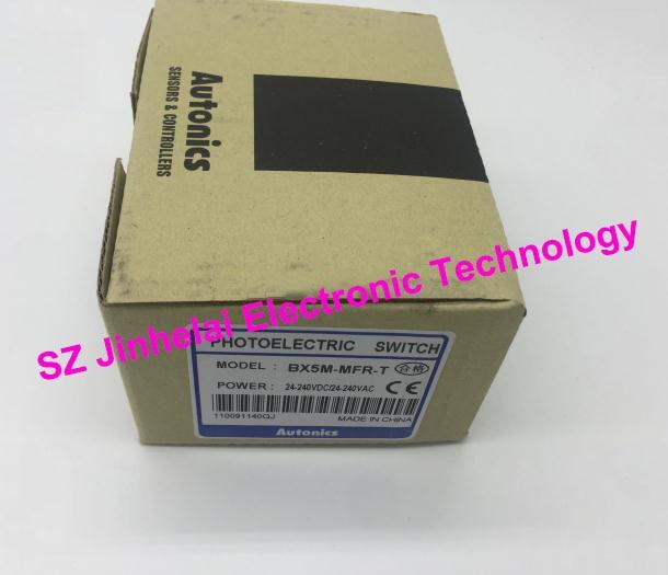 100% Authentic original BX5M-MFR-T AUTONICS PHOTOELECTRIC SWITCH new original bx5m mfr t autonics photoelectric sensors