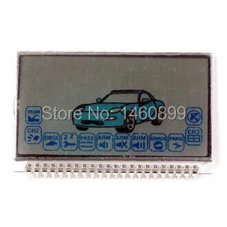 Wholesale A6 LCD Display Screen for Two way Car Alarm System Starline A6 lcd Remote Control Key Fob Keychain