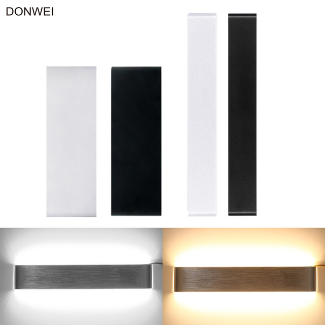 bright indoor wall lights super bright 10w 14w long strips led mirror light simple style indoor decor up and down