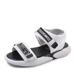 Модные женские босоножки из дышащего материала для шоппинга, Женская прогулочная обувь, Летние черные босоножки, sandalias de mujer verano