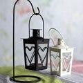 Freeshipping novo estilo de boa qualidade retro castiçal castiçal de metal lanterna casa decoração de casamento dom idéias românticas