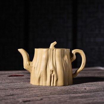 hand-made original mining section mud tree stump pot Kungfu teapot teapot and teapot, one proxy can be mixed batch