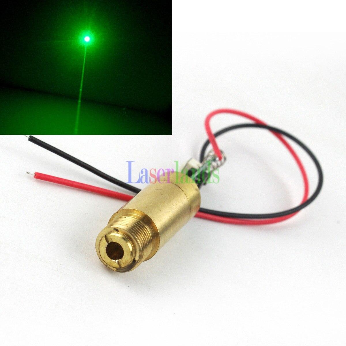 Dia.12mm APC 3.0-3.7V 532nm Green Laser 30mW-50mW 200mW DOT Laser Diode Module
