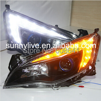 For GM for  Buick for Excelle XT for Opel Astra LED Angel Eye Head Lamp 2010 - 2011 JC цены онлайн