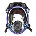 2 en 1 Función 6800 de La Cara Llena Respirador Pintura Rociar Cara Máscara De Gas Máscara de Silicona Completo
