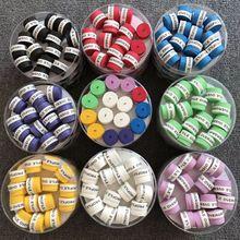 60 шт(разные цвета) сухая на ощупь теннисная рукоятка, ракетка для тенниса, ракетка для бадминтона, овергрипы