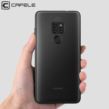 CAFELE Matte TPU Case for Huawei P10 lite P Smart honor 8 9 10 Ultra Thin TPU flexibility cases for huawei(China)