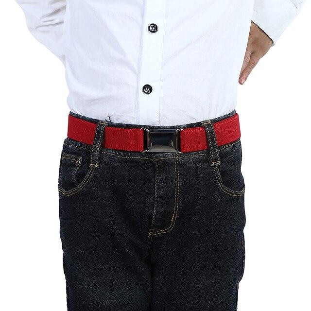 Fashion Elastic Canvas Belt for Boys 2