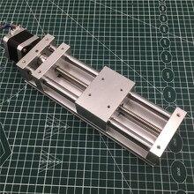 NEMA17 motore passo passo ASSE Z SCIVOLO attuatore kit 120 MILLIMETRI di viaggio ANTI BACKLASH CNC scorrevole ROUTER, 3D STAMPANTE, AL PLASMA Croce kit di Diapositive
