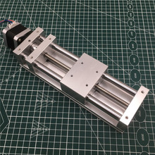 NEMA17 stepper motor Z ACHSE RUTSCHE antrieb kit 120MM reise ANTI BACKLASH CNC schiebe ROUTER, 3D DRUCKER, PLASMA Kreuz Rutsche kit