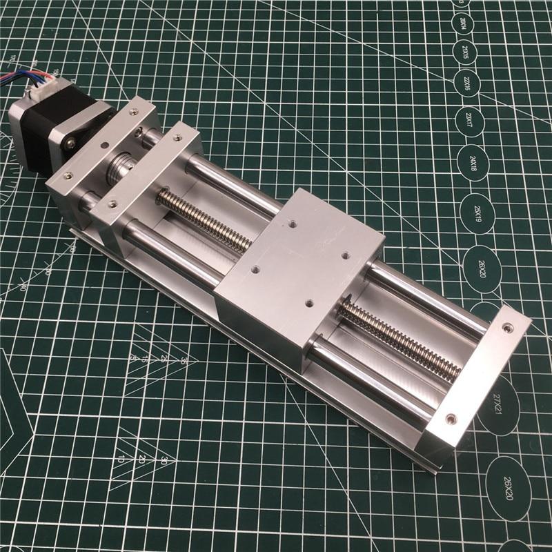 NEMA17 Stepper Motor Z AXIS SLIDE Actuator Kit 120MM Travel ANTI-BACKLASH CNC Sliding ROUTER,3D PRINTER,PLASMA Cross Slide Kit