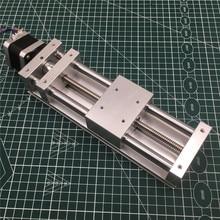 Nema17 스테퍼 모터 z 축 슬라이드 액추에이터 키트 120mm 여행용 백래시 cnc 슬라이딩 라우터, 3d 프린터, 플라즈마 크로스 슬라이드 키트