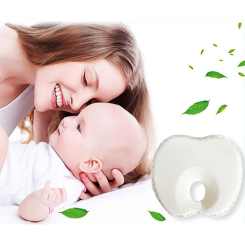 23 Cm Soft Neugeborenen Gestaltung Unterstützung Kissen Stereotypen Memory Foam Organische Atmungsaktive Baumwolle Handy Fall