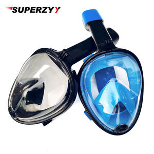 Snorkeling-Set Diving-Mask Anti-Skid-Ring Underwater-Scuba Swim Full-Face with for Russian