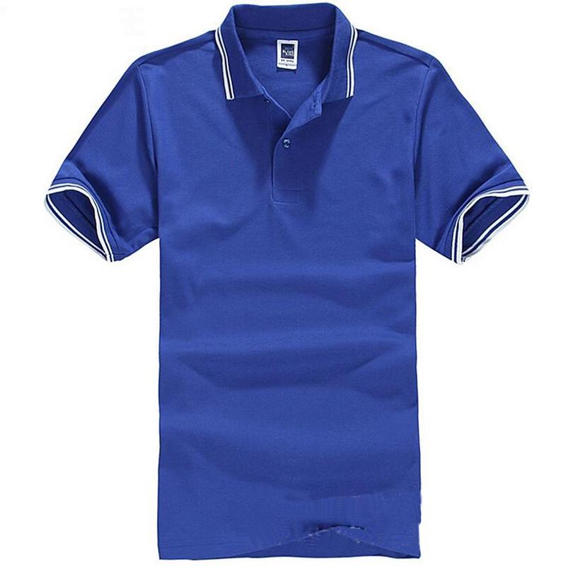 Markenkleidung Polo-Shirt Solide Casual Polo Homme Für Männer - Herrenbekleidung - Foto 2