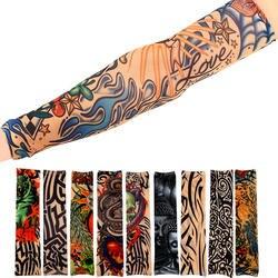 1 шт.. велосипедные спортивные тату рукава УФ-крутые рукава для рук велосипедные беговые руки теплые спортивные эластичные нарукавники для
