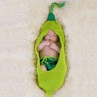 2017 Bambino Appena Nato Sveglio Del Crochet Del Knit Costume Prop Outfit Foto fotografia Cappello Del Bambino Puntelli Foto New Born Neonate Carino Outfits