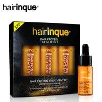 HAIRINQUE 3.7% Hair Care Brazilian Keratin Hair Treatment Set for Repair Damage&10ml Hair Oil Coconut Oil Hair Care Set