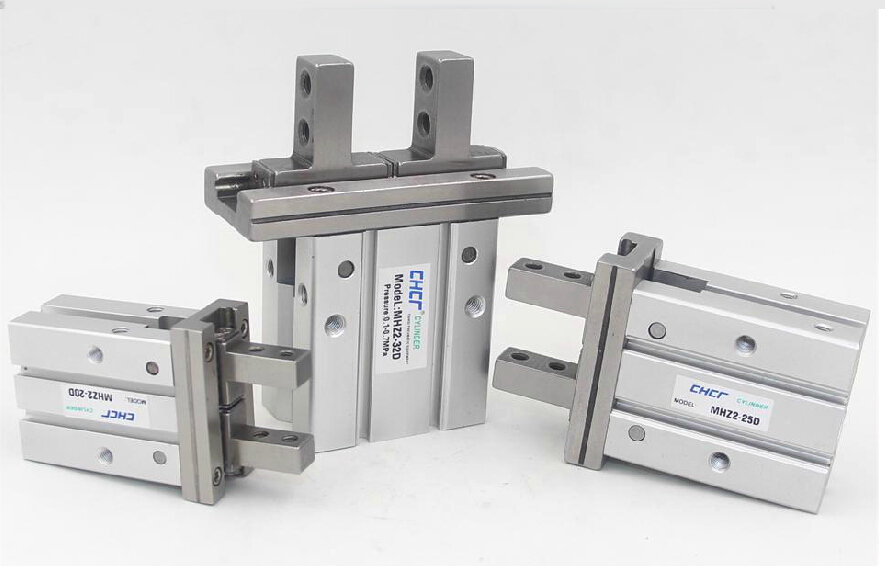 все цены на  MHZ2-25D parallel finger cylinder manipulator SMC type pneumatic finger cylinder  онлайн