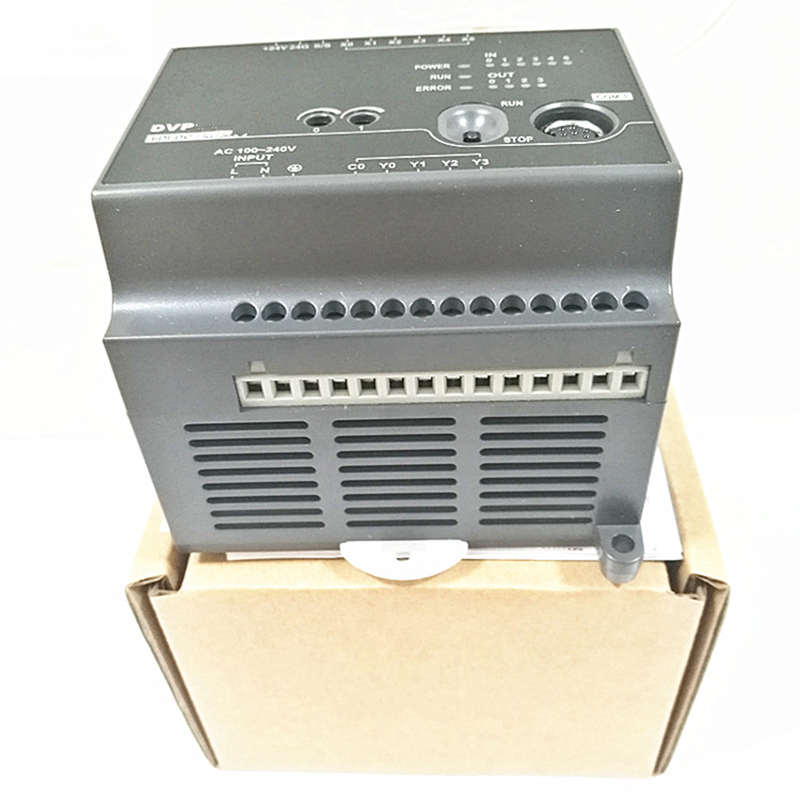 DVP10EC00R3 EC3 Series Standard PLC DI 6 DO 4 Relay 100-240VAC new in box цена