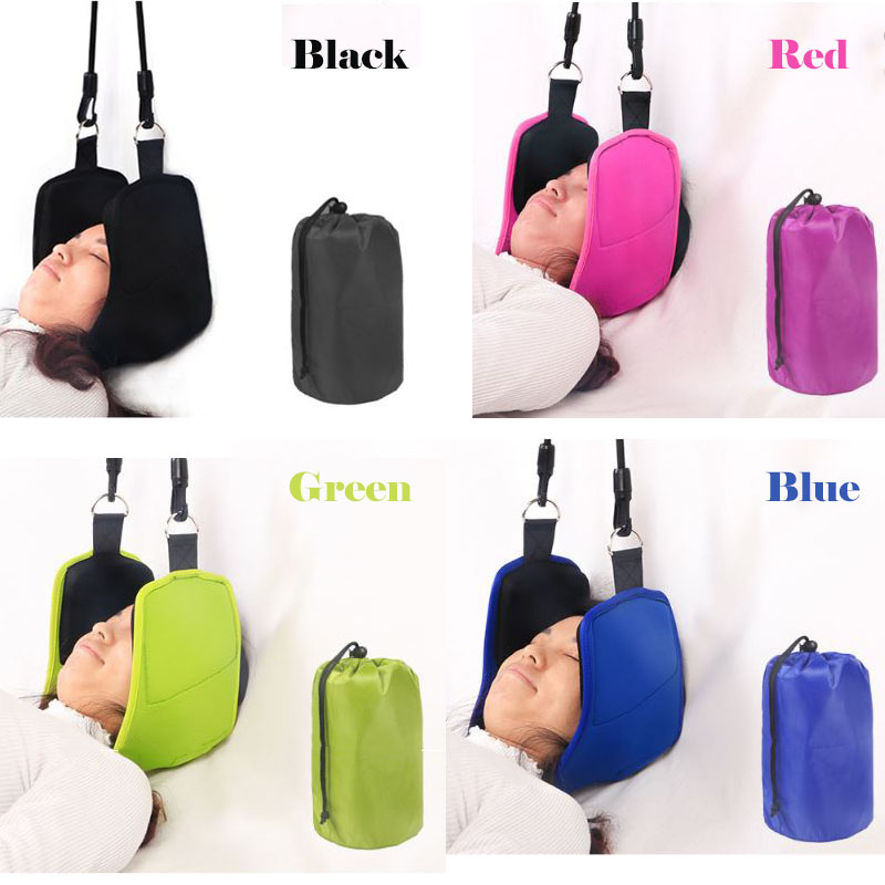 Cervical Traction Hammock Neck Massager Neoprene Hammock For Head Neck Pain Reliever Spine Stretching Massage Therapy