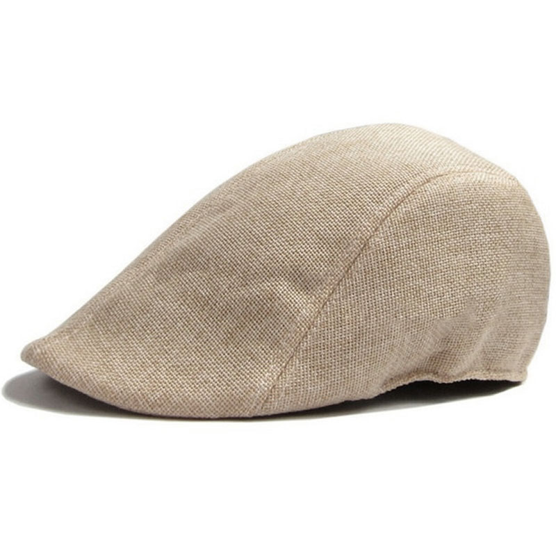 Duckbill Cap Hat Berets Golf-Driving-Sun Flat Womens Ivy-Cap Cabbie Newsboy Unisex