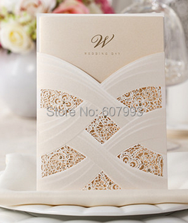 Customized laser cut floral wedding invitation card personalized customized laser cut floral wedding invitation card personalized lovely marriage ceremony greeting kit 50sets stopboris