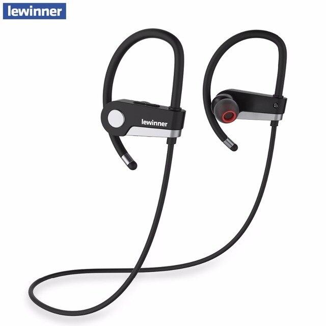 Lewinner c6 bluetooth-гарнитура 4.1 беспроводные наушники наушники bluetooth наушники спорт бег стерео наушники с микрофоном