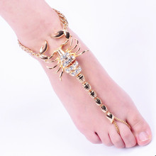 New Fashion Scorpion Women's Anklets Beach Sandals Anklets Women's favorite gift Fashionable accessories