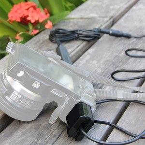 Image 4 - Andoer NP FW50 adaptateur dalimentation pour caméras batterie factice coupleur cc connecteur câble à ressort pour Sony série NEX 3/5/6/7