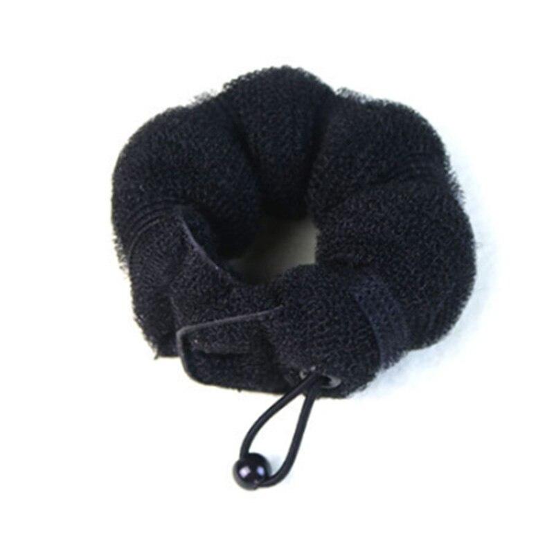 Image 3 - 2pcs Women Hair Styling Former Magic Sponge Bun Maker Donut Ring Shaper Foam Braider Tool For Girl's DIY Hair Style-in Braiders from Beauty & Health