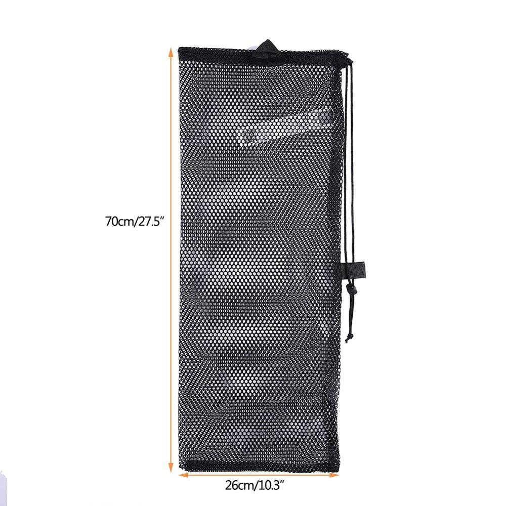 Newest Quick Dry Polyester Mesh Bag Swimming Diving Drawstring Bag Water Sports Packing Net Bags