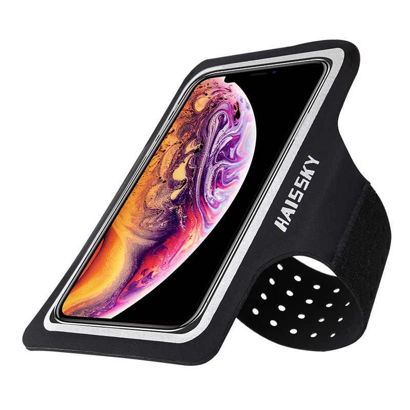 รองเท้าวิ่งกีฬาเคสโทรศัพท์มือ Armbands สำหรับ iPhone 11 PRO MAX 8 7 Plus Samsung Note 10 S20 S10 ผู้ถือ Brassard ARM band กระเป๋า