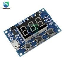 Micro USB numérique réglable PWM fréquence d'impulsion générateur de Signal Module panneau Cycle de service 2 canaux 3 bouton 1Hz ~ 150 KHz